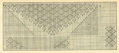 Скатерть 1 - схема (продолжение). Э.Критеску 'Художественное вязание спицами'