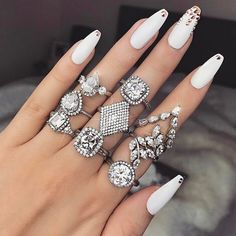 """Black #Cosmopolitan Love it  ...                Love it #nails💅 #rings💍 A post shared by F A S H I O N I N S P I R E ☆ (@fashioniiinspire) on Jun 6, 2017 at 4:24am PDT   _________ Fashion bites are snippets of news and Fashion collected from around the web gathered for our community. (368 Likes at 2017-06-06 07:24:39)     Read more on BlackCosmopolitan AKA """"BlkCosmo"""" (Link in bio) Marketing by @zGenMedia  Models please inquire @Background_rated Toronto  #mod"""