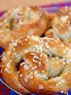 Homemade soft pretzels using Artisan Bread in Five Minutes a Day