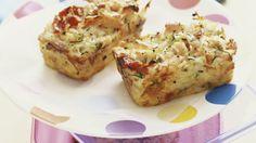 Rezept: Kartoffel-Schinken-Kuchen mit Kräutern