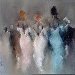 GALERIE CLASS 41 Paris. Art Tutor, Simple Canvas Paintings, Pastel Portraits, Dream Art, Pastel Art, Abstract Flowers, French Artists, Acrylic Art, Figurative Art