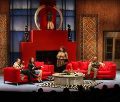 God of Carnage. Dallas Theater Center. Set design by John Arnone. 2012