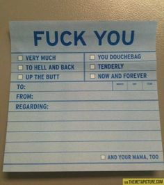 I could think of a few people to give these to.