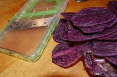 Two Sisters: The Recipes: Purple Potato Parmesan: the perfect Thanksgiving side dish