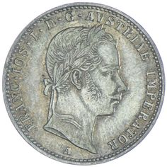 1/4 Gulden 1858 A