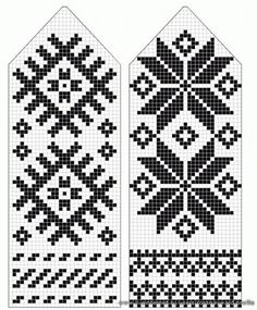 pattern for mittens Knitted Mittens Pattern, Crochet Mittens, Knitted Gloves, Knitting Charts, Knitting Socks, Hand Knitting, Knitting Patterns, Cross Stitch Kits, Cross Stitch Patterns