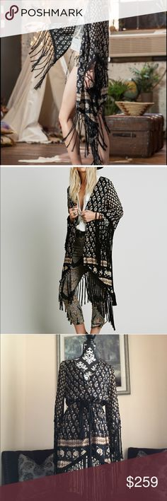 🌵SPELL&GYPSY🌵BOHEMIAN ROYALE FRINGE KIMONO Beautifully BOHEMIAN. Spell and gypsy collective BOHEMIAN ROYALE fringe kimono. Excellent condition. OFFERS WELCOME💕💕IF YOU ❤️ IT, MAKE AN OFFER!!💕YOU'LL NEVER KNOW IF YOU DONT TRY💝 Spell & The Gypsy Collective Jackets & Coats