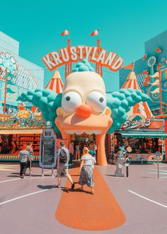 California Amusement Parks by Photographer Ludwig Favre – Fubiz Media Aesthetic Pastel Wallpaper, Retro Wallpaper, Aesthetic Backgrounds, Aesthetic Wallpapers, Screen Wallpaper, Wallpaper Quotes, Tumblr Backgrounds, Collage Mural, Bedroom Wall Collage
