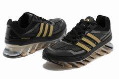 Adidas Springblade Running  Black Gold £89.99 Save: 52% off