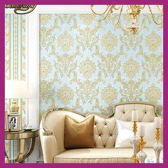 beibehang papel de parede 3D Precios preciosos Damascus wallpaper for walls background Living Room 3D Wallpapers wall paper roll