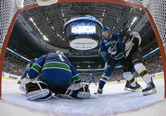 Vancouver Cancucks vs. Boston #vancouvercanucks Hockey Logos, Vancouver Canucks, Boston