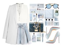"""""""Started From The Bottom"""" by tamaramanhardt ❤ liked on Polyvore featuring Christian Louboutin, Vince, Zimmermann, GEDEBE, Laura Ashley, Anastasia Beverly Hills, Sheriff&Cherry, Sue Devitt, Givenchy and Drybar"""