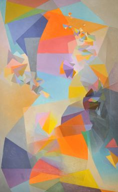 Hommage a Debussy by Stanton Macdonald-Wright