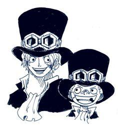 少年サボと青年サボ <ぽにお>Twitter