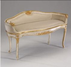 Decorative Crafts Louis XV style Settee