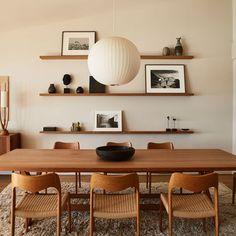 Dining Room Inspiration, Interior Inspiration, Interior Ideas, Malibu Beach House, Esstisch Design, Dining Room Design, Design Kitchen, Kitchen Ideas, Kitchen Decor
