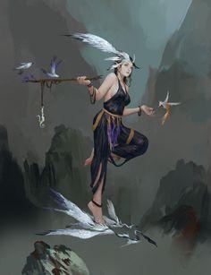 Bird Walker by Feike