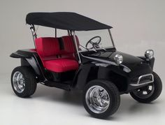 One of customers, Dune Buggy Golf Carts in Texas, builds these really cool dune buggy golf carts equipped with our convertible bimini top. Made in Dayton, OH, exclusively for Power Equipment Solutions, our convertible bimini top is available in 50 different colors of weather-resistant nautical-quality Sunbrella material. In just seconds, it can be converted from the 'up' position (offering full protection from UV and rain) to the 'down' position (letting you soak in the sun)!