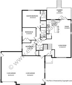 Bi level house plan with a bonus room 2011552 by e designs for Edesign plans