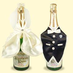 """SHOP-PARADISE.COM:  Hochzeit-Flaschen-Decor """"Brautpaar"""" 10,71 €"""
