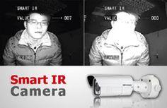دوربین مدار بسته هایک ویژن از فناوری دید در شب Smart IR بهره میگیرند