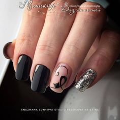 Halloween Nails Pictures – Part – Arts And Crafts – All DIY Projects Cat Nail Art, Cat Nails, Nail Swag, Stylish Nails, Trendy Nails, Cat Nail Designs, Nagel Gel, Gorgeous Nails, Halloween Nails