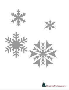 christmas stencils to print Christmas Tree Stencil, Snowflake Stencil, Christmas Tree Template, Snowflake Template, Printable Christmas Cards, Christmas Frames, Xmas, Free Printable Cards, Free Printables