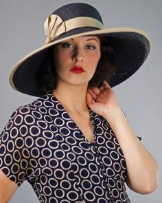 Louise Green - Grace hat - very 1930's-ish