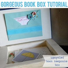 DIY A Gorgeous Book Box