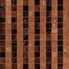 #Bisazza #Decorations 5x5 Rayures Marrons | #Porcelain stoneware | on #bathroom39.com at 216 Euro/box | #mosaic #bathroom #kitchen
