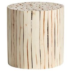 BIJZETTAFEL PISA DIA 30X30 CM #kwantum #najaar #nieuw #kruk #hout