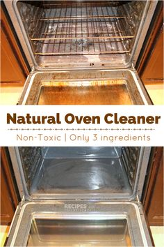 Natural Oven Cleaner Recipe from RecipeswithEssentialOils.com