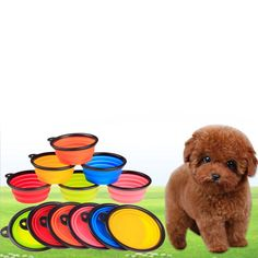 1.49$  Buy here - Hot Sale Pet Products silicone Bowl pet folding portable Dog Bowls wholesale for food the dog drinking water bowl pet bowls   #magazine