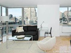 How about treating yourself to an upscale 2 bedroom apartment in a high-rise building with views on Chelsea?