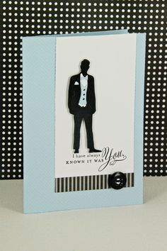 It Was You Card by Erin Lincoln for Papertrey Ink (December 2012)