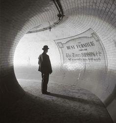 E. O. Hoppé, Metro Station at the British Museum, London, 1937