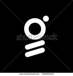 G Logo Abstract Isolated Black Stock Vector (Royalty Free) 1036603279 Logo Design Cost, Custom Logo Design, Lettering Design, Unique Logo, Cool Logo, Coding Logo, Cheap Logo, Square Logo, Black And White Logos
