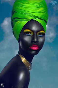 Neon makeup                                                       …