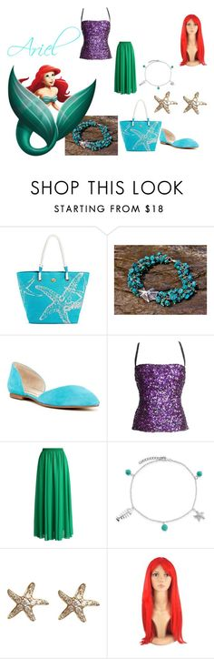 """Ariel"" by mandalinaqitrydewi on Polyvore featuring Dolce&Gabbana, Chicwish, Bling Jewelry and Annoushka"
