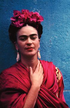 The vibrant Frida Khalo epitomised individualism.