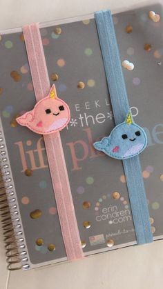 These incredibly cute planner bands. | 33 Things Every Narwhal Lover Needs In Their Home