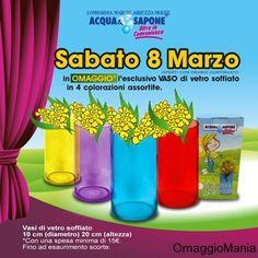Vaso omaggio per la Festa della Donna - http://www.omaggiomania.com/omaggi-con-acquisto/vaso-omaggio-per-la-festa-della-donna/