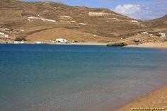 Plage a Ftelia - Mykonos - Cyclades - Grece
