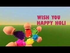 Happy Holi 2016, Holi Wishes, Holi Whatsapp Video, Holi Greetings - YouTube