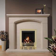 Axon Fireplaces Nelson Limestone Fireplace Direct Fireplaces ...