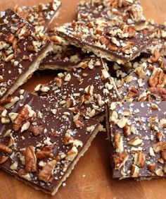 Chocolate Toffee Matzo Crack Recipe on Yummly