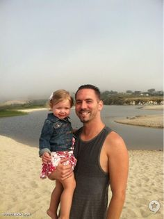 nick with his daughter annabelle