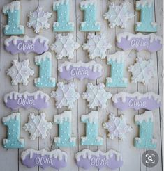 489 Likes, 7 Comments - Veronica McMaster Elsa Birthday Party, 2nd Birthday Party Themes, Frozen Themed Birthday Party, Girl 2nd Birthday, Winter Birthday, Frozen Birthday Party, Frozen Party, Birthday Ideas, Frozen Disney