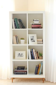 Ikea Kallax Hack, Ikea Bookshelf Hack, Ikea Kallax Shelf, Ikea Storage, Kallax Shelving, Bookcase Makeover, Hackers Ikea, Ikea Shelf Hack, Diy Shelving