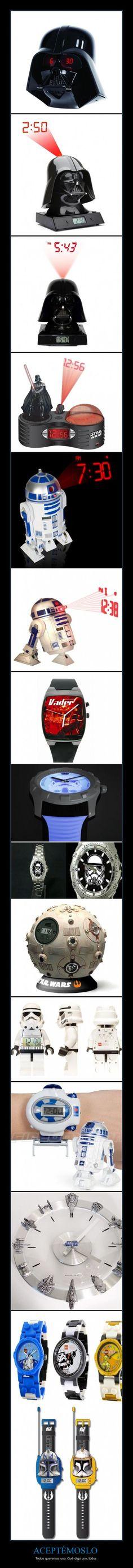 Relojes Star Wars
